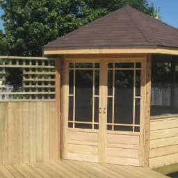 new deck build gazebo